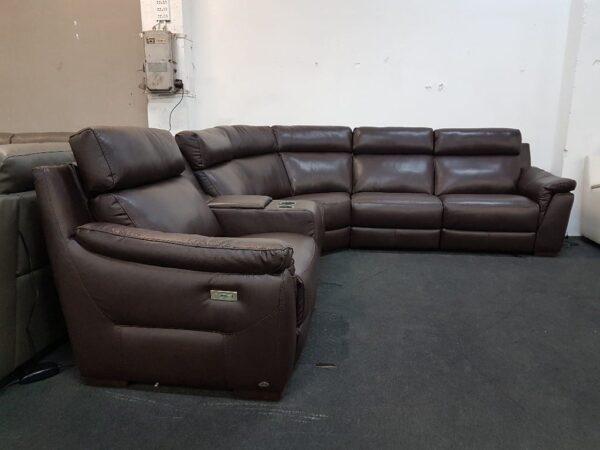 Softaly 316 bőr ülőgarnitúra relax 2