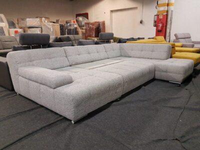 BOOGIE ágyazható ülőgarnitúra, U alakú kanapé