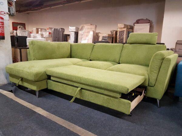 Life sarokkanapé - Ágyazható ülőgarnitúra - Leoni
