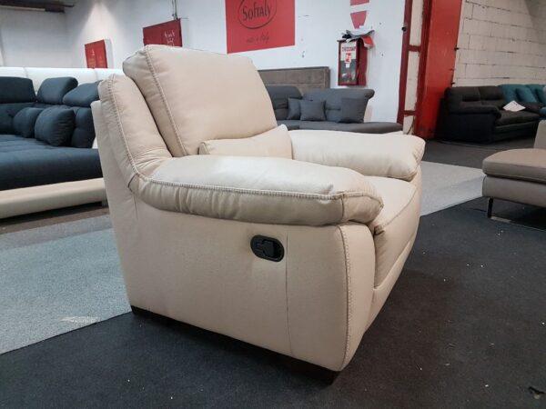 Softaly 214 bőr fotel