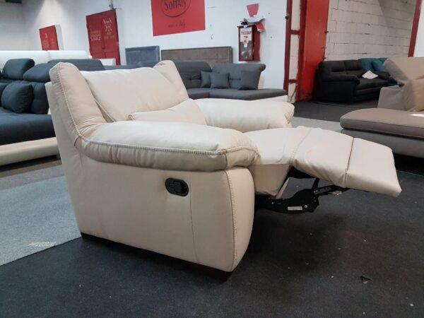 Softaly 214 relax bőr fotel