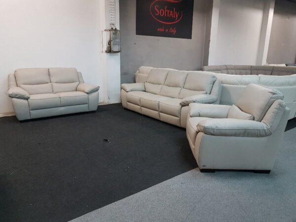 Softaly U 214 3+2+1 relax bőr kanapé 11