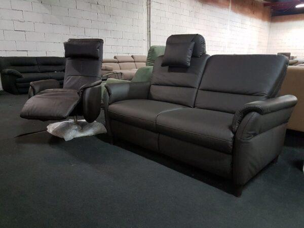 Movie bőr kanapé + Relax bőr fotel