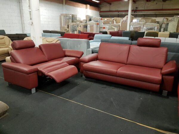 Vito 3-2 bőr relax kanapé 3