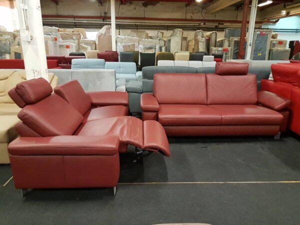 Vito 3-2 bőr relax kanapé 1