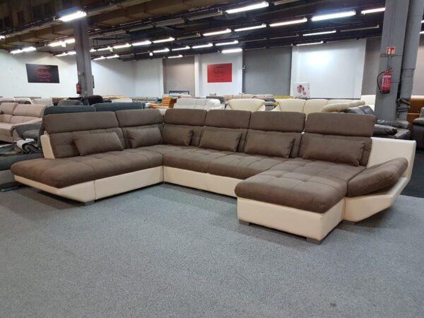 Park XXL ülőgarnitúra - Eternity U alakú kanapé