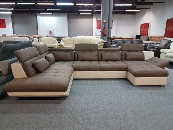 Park XXL U alakú ülőgarnitúra - Eternity U kanapé