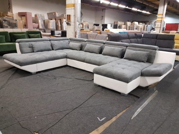 U alakú kanapé PARK XXL
