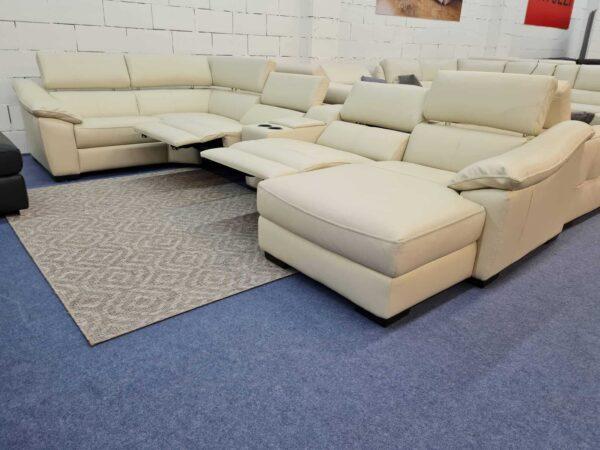 Bőr ülőgarnitúra, relax ülőgarnitúra - Italsofa C072
