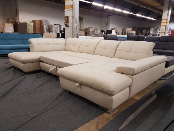 Ada ülőgarnitúrák - Alina 7695 ágyazható U kanapé