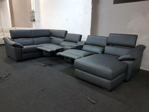 Bőr ülőgarnitúra, Italsofa C072 relax ülőgarnitúra