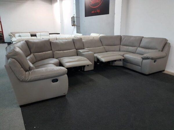 Bőr ülőgarnitúra - SOFTALY 214 relax - Natuzzi