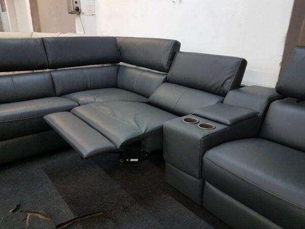 Italsofa C072 bőr ülőgarnitúra motoros relax