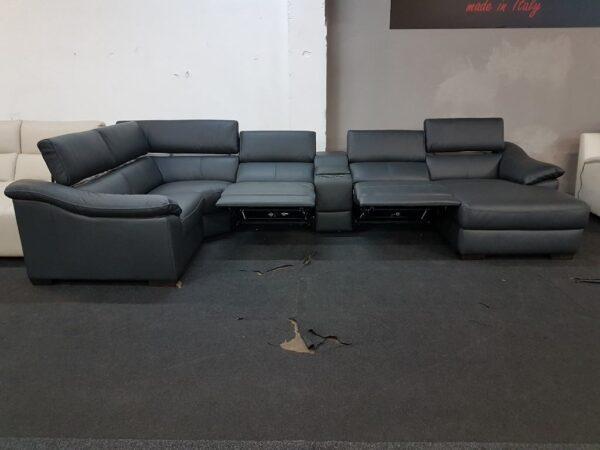 Italsofa C072 bőr ülőgarnitúra relax