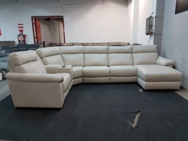 Italsofa C126 relax bőr ülőgarnitúra 9