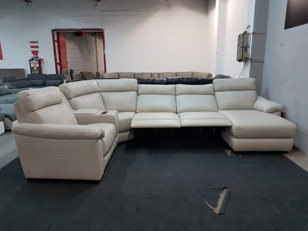 Italsofa C126 relax bőr ülőgarnitúra 11