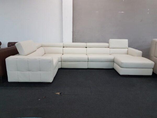 Italsofa C189 bőr ülőgarnitúra relax - Natuzzi
