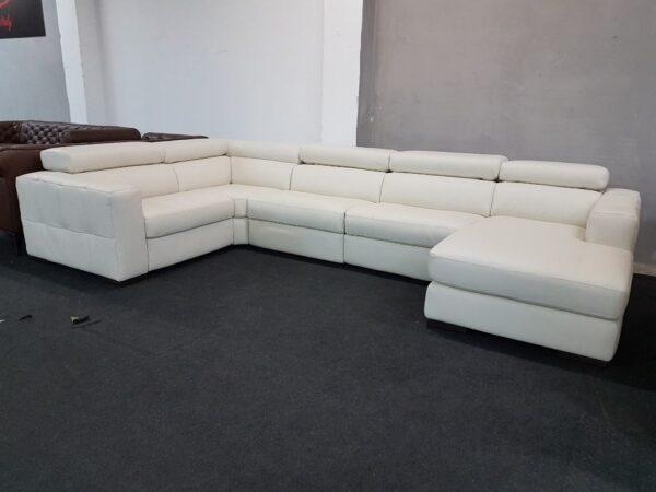 Italsofa C189 bőr kanapé, bőr ülőgarnitúra Natuzzi