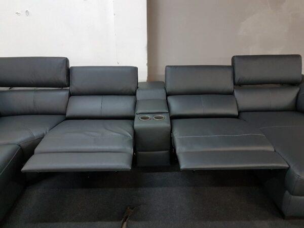 Motoros relax funkció - Italsofa C072 bőr kanapé