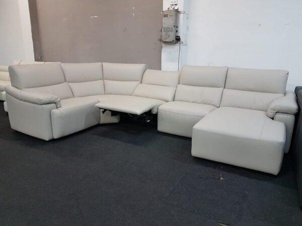 Natuzzi ülőgarnitúra - C191 relax bőr ülőgarnitúra