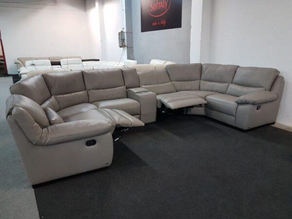 Relax ülőgarnitúra - SOFTALY 214 bőr ülőgarnitúra