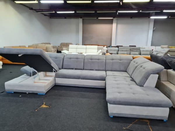 Santa Fe Lux ülőgarnitúra - ágyazható, ágyneműtartós