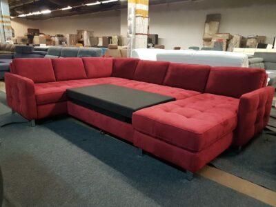 Ágyazható ülőgarnitúra - Trevis U kanapé