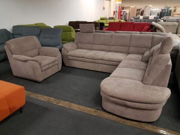Cascada sarokgarnitúra + Fotel 1