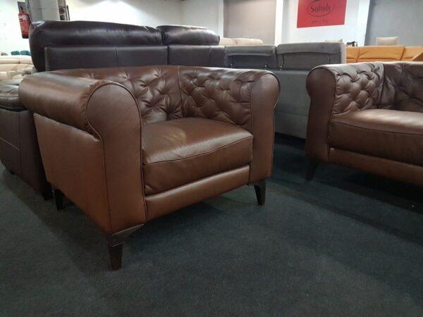 Italsofa C005 bőr fotel | 3+1+1kanapé