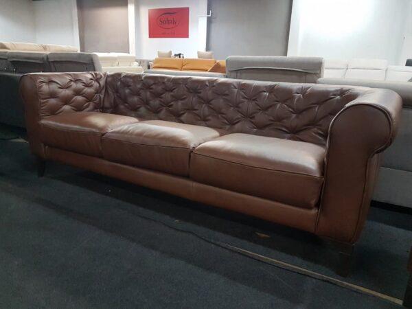 Italsofa C005 bőr 3+1+1 kanapé