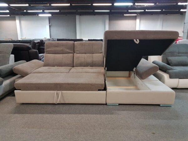 Santa Fe - Santa Lucia ágyazható, ágyneműtartós sarok kanapé