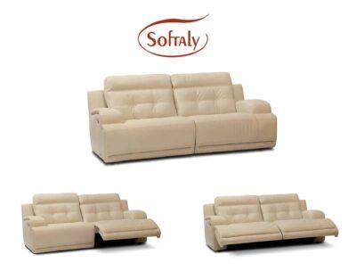 Relax bőr kanapé Softaly 108 by Natuzzi