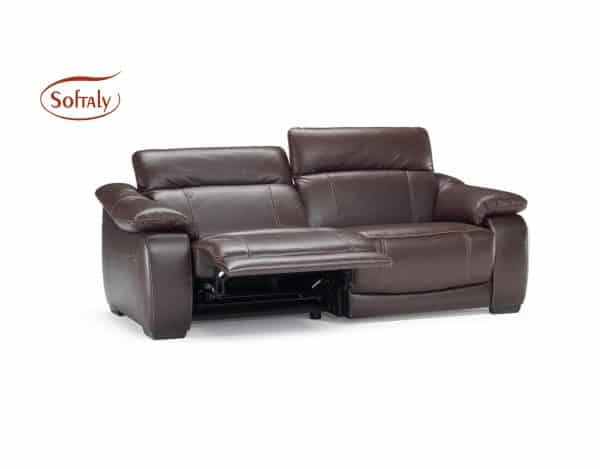 Relax bőr kanapé Softaly U076 - Natuzzi