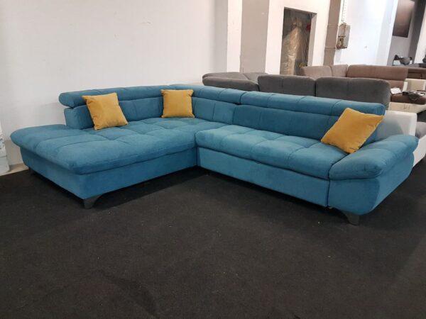 Cotta Gemini sarok ülőgarnitúra (kék)