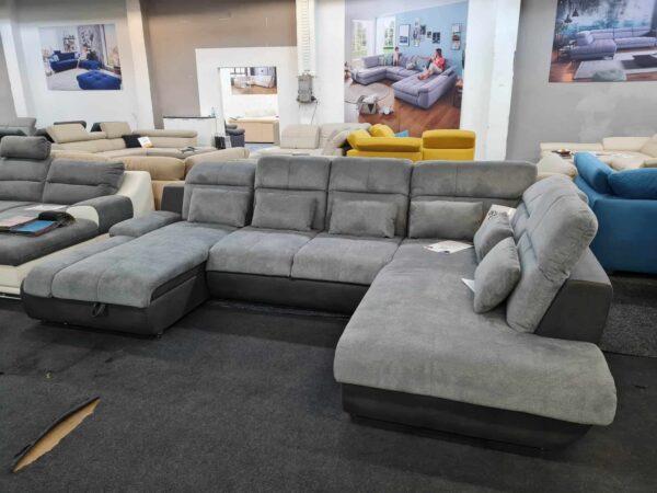 Star U kanapé - ágyazható ülőgarnitúra