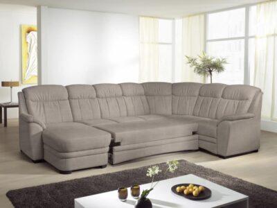 Bruno U alakú kanapé ágyazható