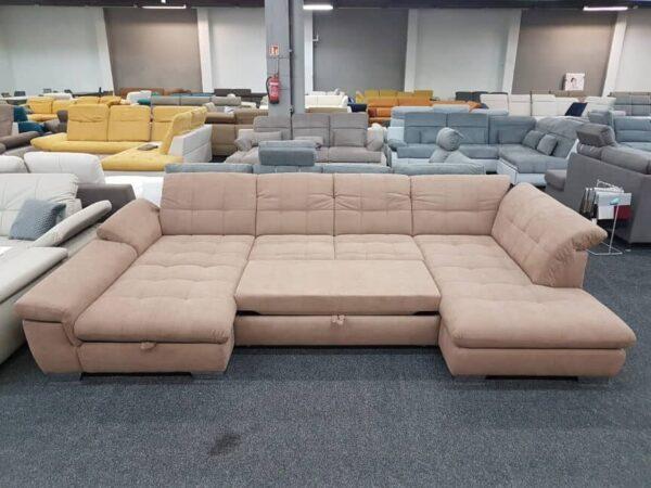 Ada Atlantis U alakú kanapé ágyazható