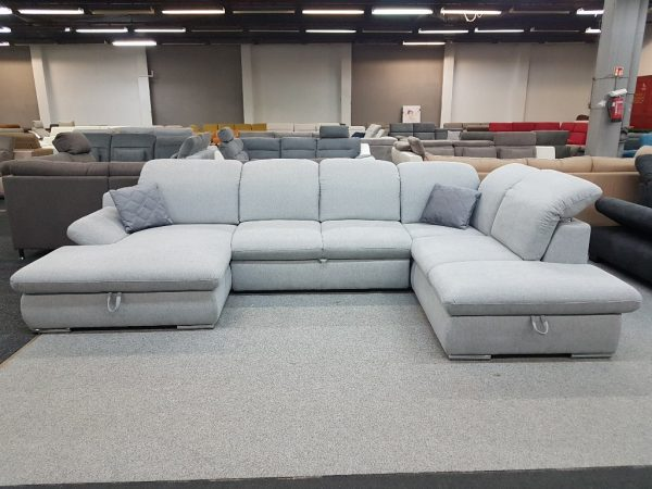 Isona ülőgarnitúra - COTTA -U alakú kanapé