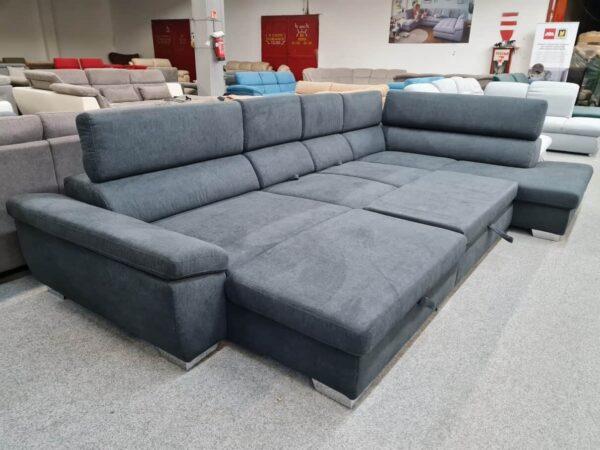 Ada ülőgarnitúra - Alina 7514 U alakú kanapé ágyazható