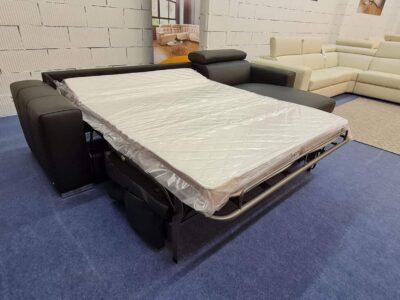 Softaly Z 324 ágyazható bőr sarokkanapé
