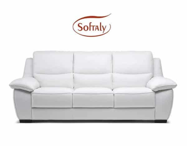 Softaly U214 relax bőr kanapé by Natuzzi