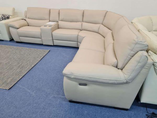Softaly U 214 bőr ülőgarnitúra – Relax sarok ülőgarnitúra