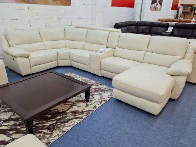 Softaly 214 bőr ülőgarnitúra – Relax ülőgarnitúra