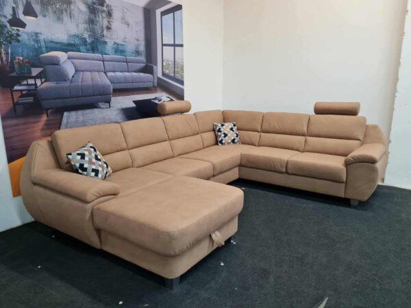 Alina 7926 ülőgarnitúra, U alakú kanapé