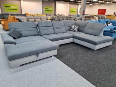 ADA Alina 7524 prémium ülőgarnitúra - U alakú kanapé