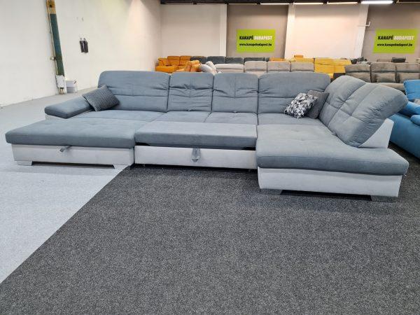 Alina 7524 ágyazható ülőgarnitúra - ADA U alakú kanapé