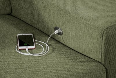 ALINA 7557 ülőgarnitúra - USB töltő