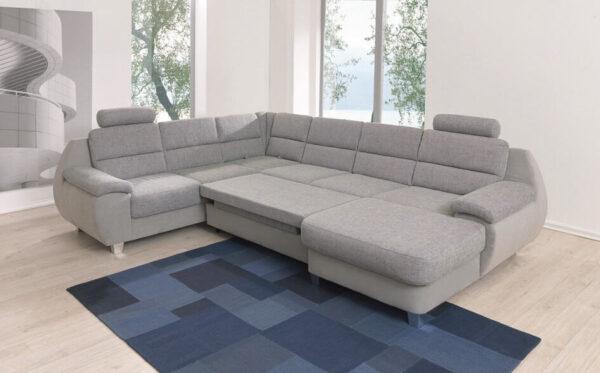 Alina 7926 U alakú kanapé - ágyazható ülőgarnitúra