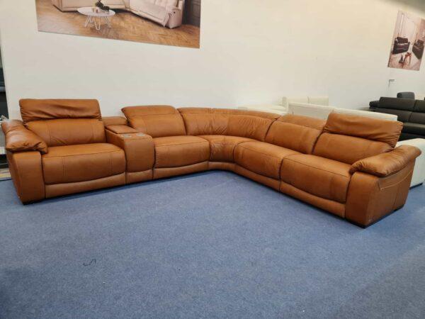 Softaly U 076 bőr ülőgarnitúra relax 2