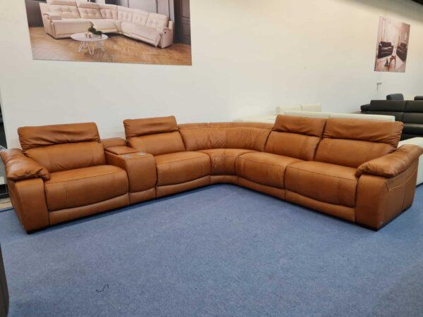 Softaly U 076 bőr ülőgarnitúra relax 3